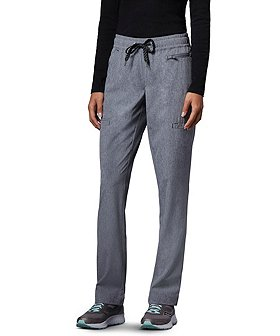 Scrubletics Women's Mid Rise Easy Flow Scrub Pants
