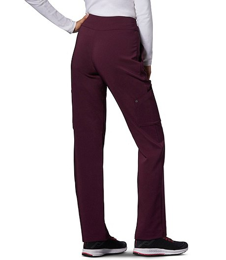 HEALTH PRO Women's High Performance FLEXTECH 4-Way Stretch Energy Scrub Pants