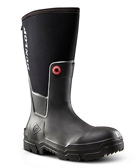 Dunlop Men's Snugboot Composite Toe Composite Plate WorkPro Wet Weather Boot