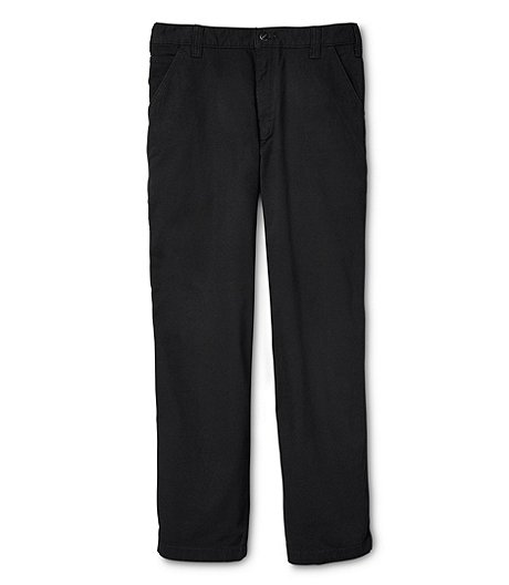 Men's Rugged Flex Rigby Relaxed Fit Dungaree Pants - Black