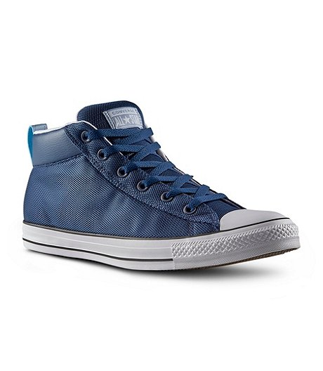 1e0b0bb8dcf Converse Men's Chuck Taylor All Star Street Mid Shoe - Navy