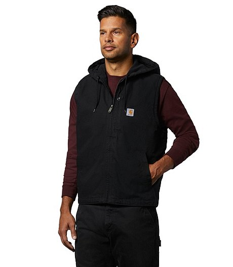Men's Knoxville Hooded Vest - Black