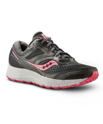 womens black saucony shoes