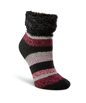 Denver Hayes Women's T-Max Feather Cuff Home Socks