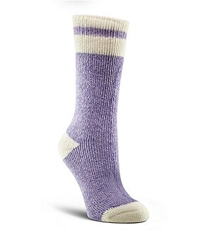 WindRiver Women's T-Max Twist Crew Socks