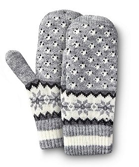 Denver Hayes Women's Knit Mitten With Chenille Lining