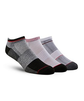 Matrix Men's 3-Pack Quad Comfort Performance Low Cut Sport Socks