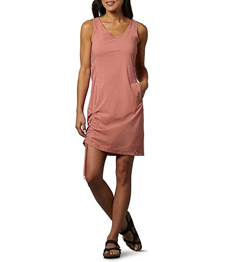 Women's Anytime Casual III V-Neck Omni-Shade UPF 50 Sleeveless Dress