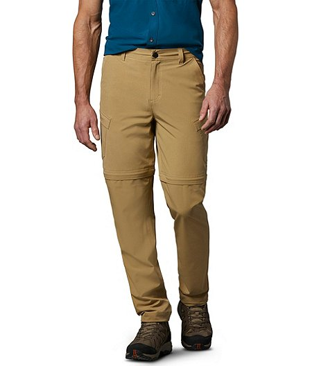 Men's Tick and Mosquito Repellent Zip Off Pants