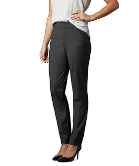 Denver Hayes Women's Curve-Tech Pull-On Dress Pants