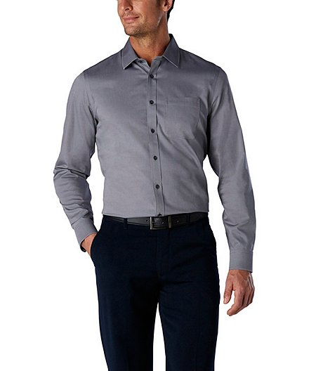 cf3214f87d9 Denver Hayes Men s Never Iron Dress Shirt- Modern Fit