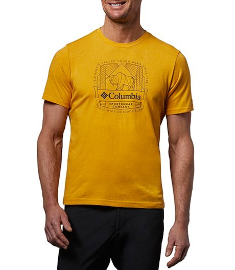 Men's CSC Wireframe Graphic T-Shirt
