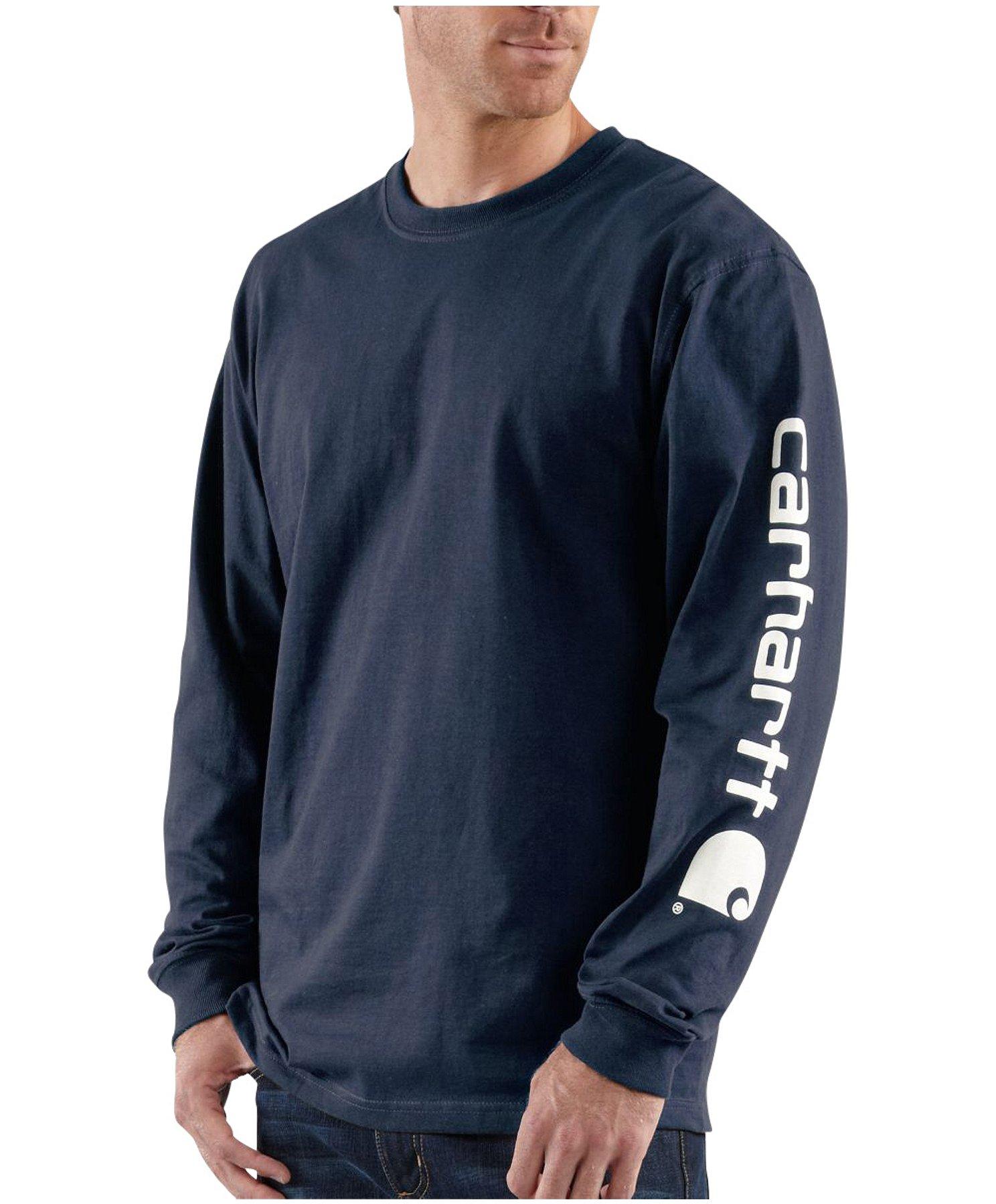 footwear cheapest sale retailer Men's Long-Sleeve Graphic T-Shirt