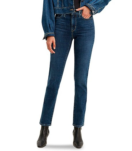 Women's 312 Shaping  Mid Rise Slim Jeans - Maui Ocean Depth