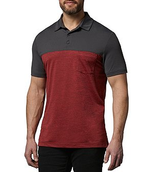 Matrix Men's DriWear Colourblock Polo