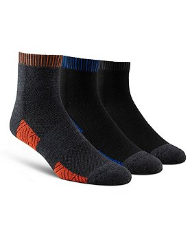 Matrix Men's Performance 3 Pack Low Cut Sport Socks