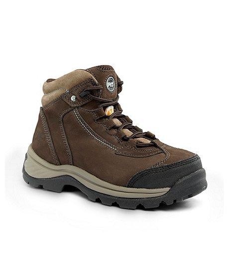 Timberland PRO Women s Hi-Cut Ratchet Steel Toe Steel Plate Work Boots ... df1cd5e18