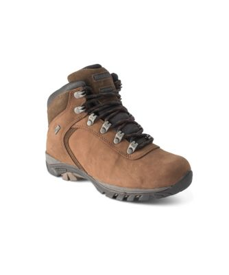 Women's WindRiver Women's Waterproof Traditional Mid-Cut Hiking Shoe Brown 8 1/2