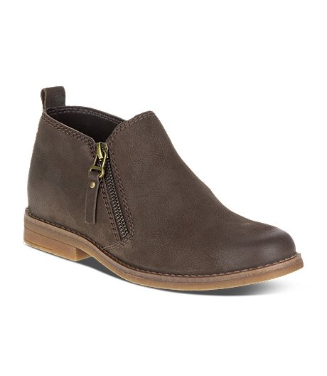 Women's Mazin Cayto Zip-Up Ankle Boots - Brown - ONLINE ONLY