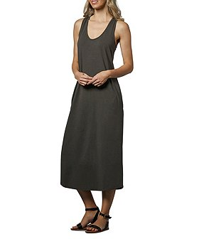 Denver Hayes Women's Knit Mid Length Tank Dress