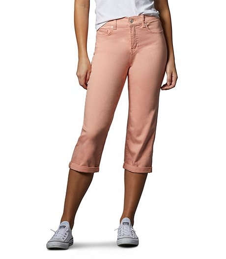 Women's Curve-Tech High-Rise Straight Crop Jeans