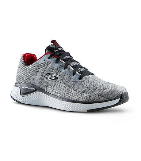 Men's Solar Fuse Kryzik Knit Lace Up Shoes