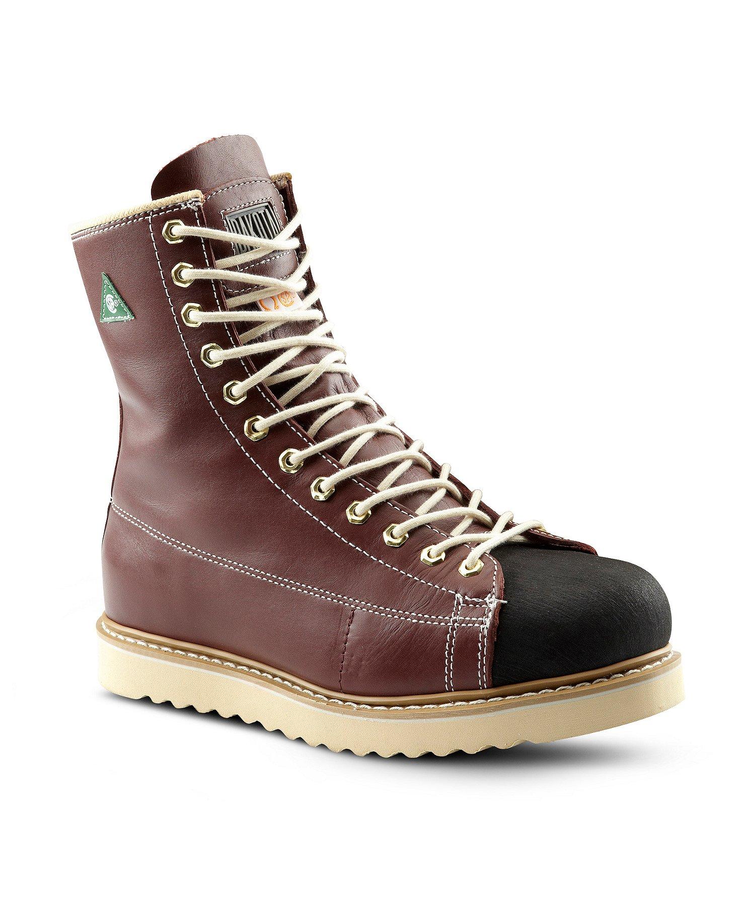 Men's 8'' Ironworker Unlined Steel Toe Steel Plate Work Boots