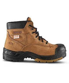 Dakota Men's 6 In Quad Comfort Steel Toe Composite Plate Work Boots