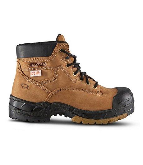 25d845efa75 Men's 6'' Quad Comfort Steel Toe Composite Plate Work Boots