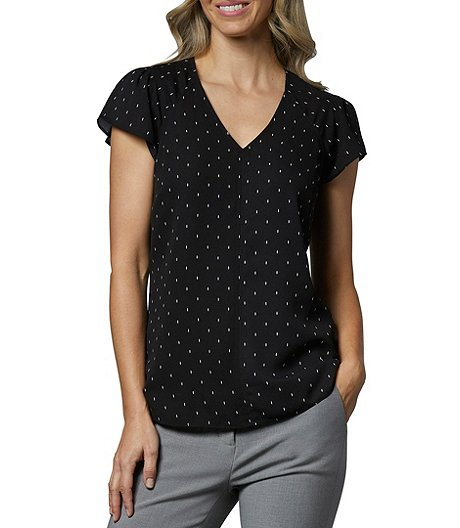 Women's Short Sleeve Essential Blouse