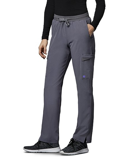 Women's Mesh Trim Scrub Pants