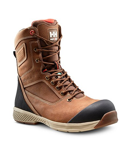 Men's Composite Toe Composite Plate 8 In Extralight Work Boots