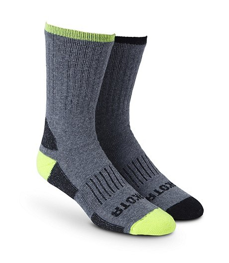 Men's Quad Comfort Ultimate Work 2-Pack Socks
