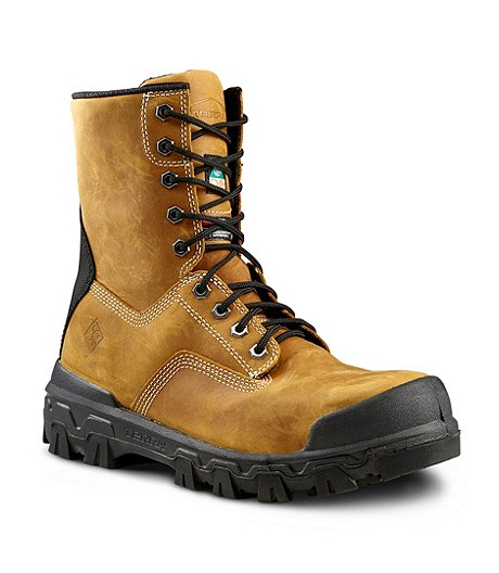 Men's Sentry 8 In Composite Toe Composite Plate Work Boots