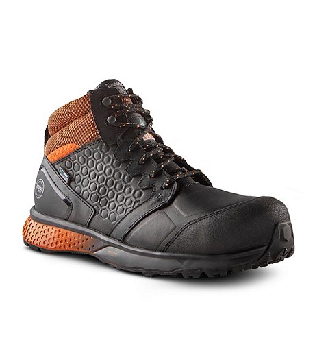 Men's Reaxion Mid Composite Toe Composite Plate Waterproof Safety Shoes