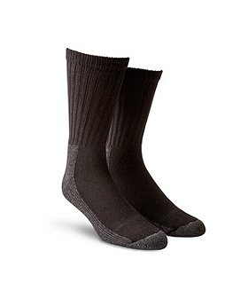 Aggressor Men's Cushioned 2-Pack Work Socks