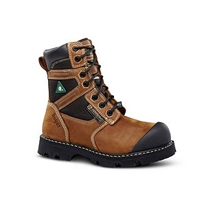 LP Royer 8 In Metal Free Composite Toe Composite Plate Work Boots