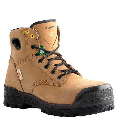 c4c27f9091d Men's 6'' Baron Metal Free Composite Toe Composite Plate Work Boots