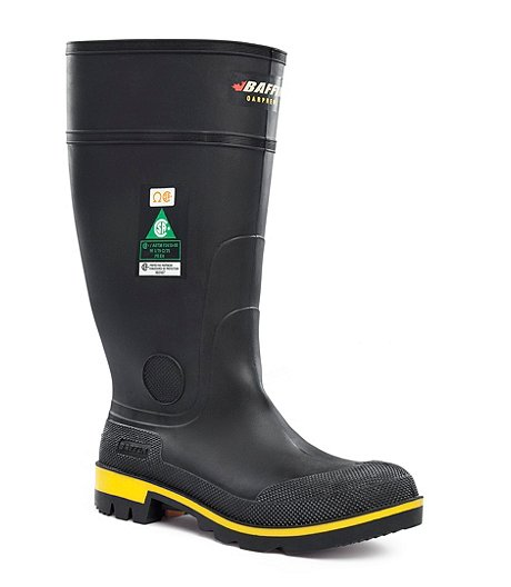 uk availability 2ac31 7c511 Baffin Men s Maximum Steel Toe Steel Plate Lug Sole Oarprene Rubber Boots
