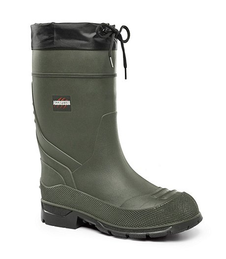 Men's Insulated Rubber Boots