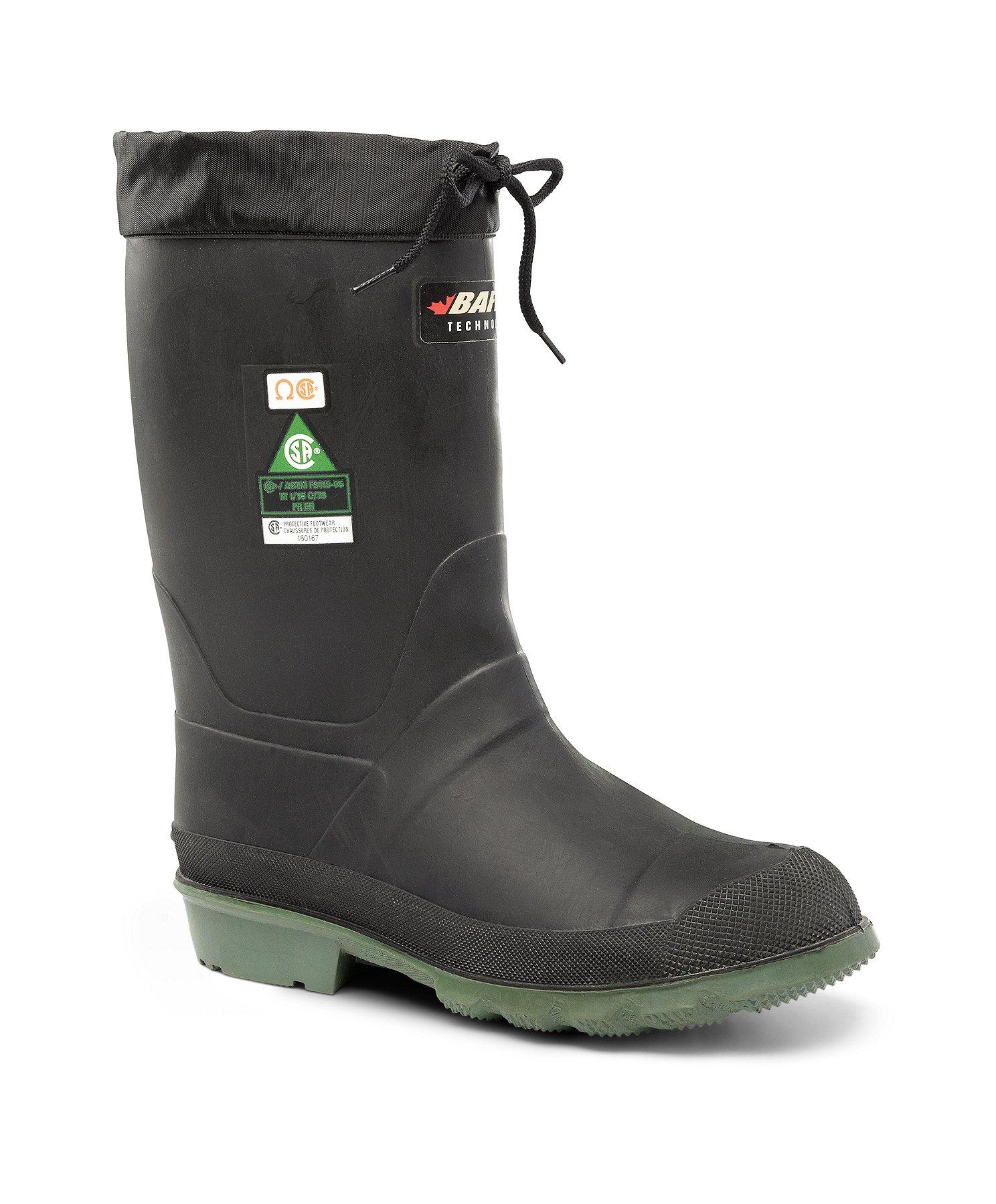 Men's Hunter Felt Lined Steel Toe Steel Plate Rubber Boots