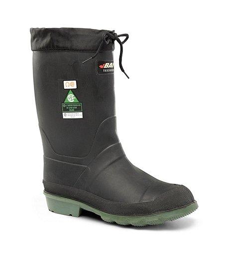 d86b986a0f9c0 Baffin Men's Hunter Felt Lined Steel Toe Steel Plate Rubber Boots ...