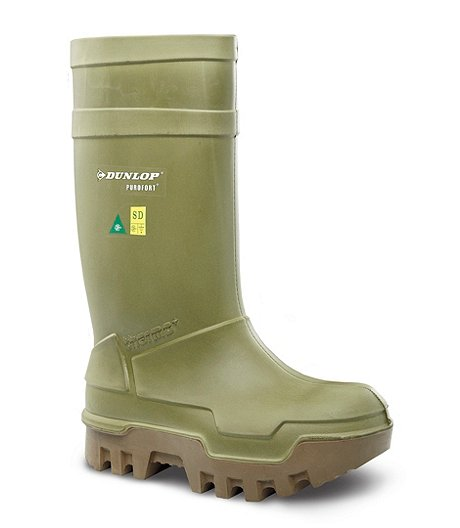 3327ed965bc1d0 Dunlop Men s Steel Toe Steel Plate PU Cold Weather Boots