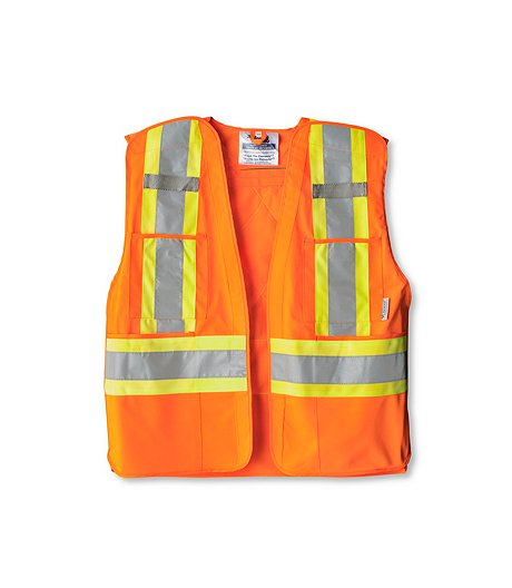 e61d26bb24fa4 MEN'S ORANGE SAFETY VEST | Mark's