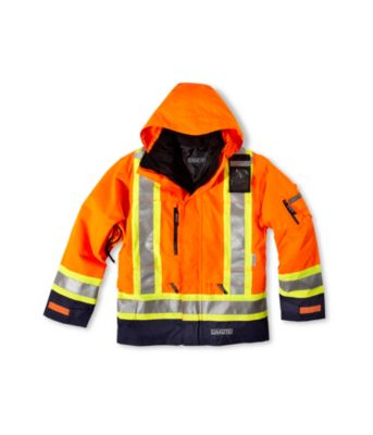 Men's Dakota Hi-Vis HD3 T-MAX Lined 3-In-1 Coat Lime Medium / Regular