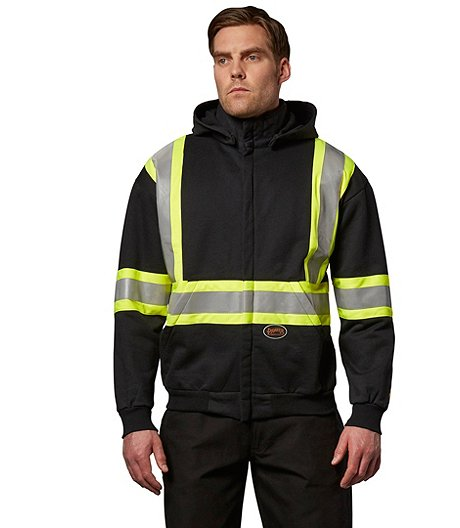 a0a54d687e3 Pioneer Men s Heavyweight FR Safety Hoodie