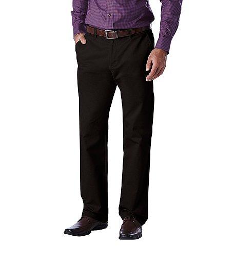 d227885a158 Denver Hayes Men s FLEXTECH Flat Front 360 Modern Fit Khakis