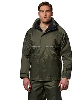 Viking Men's Green Journeyman 420D Hooded Jacket
