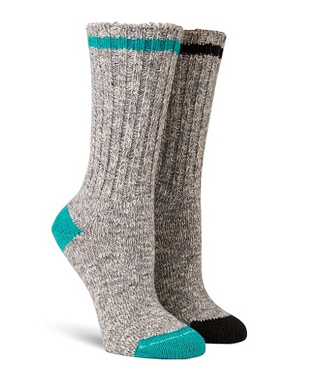 4c5ba7fffd Women's 2-Pack Cotton Rag Socks