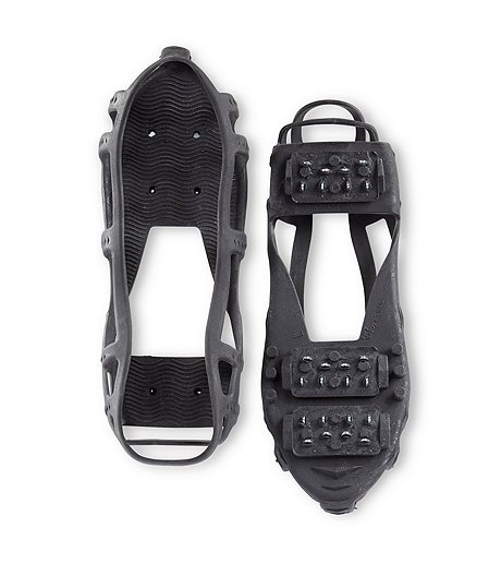 Unisex 1 Pair Stabilicers Lite Snow and Ice Traction Cleats - Black